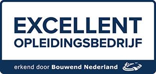 Het nieuwe keurmerk voor opleidingsbedrijven in de bouw en infra Logo